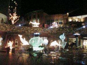 「晴海トリトンスクエア」15年前のクリスマスイルミネーション(2006年12月28日撮影)
