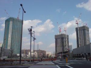 「シティータワーズ豊洲」建設中!(2008年3月7日 撮影)